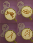 Religious themed stencils